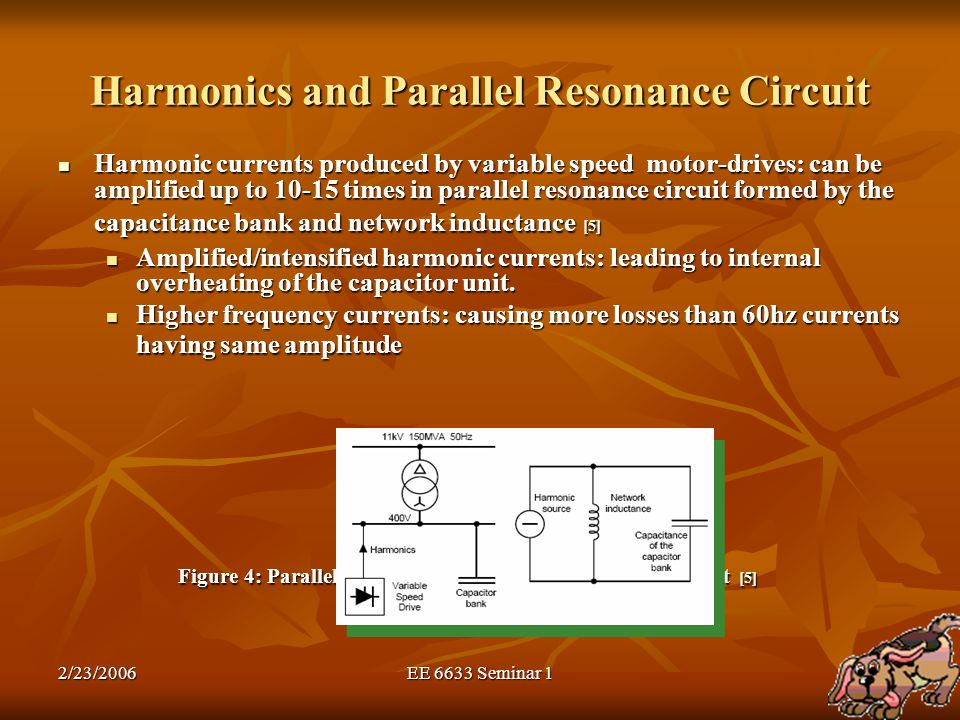 Harmonics and Parallel Resonance Circuit