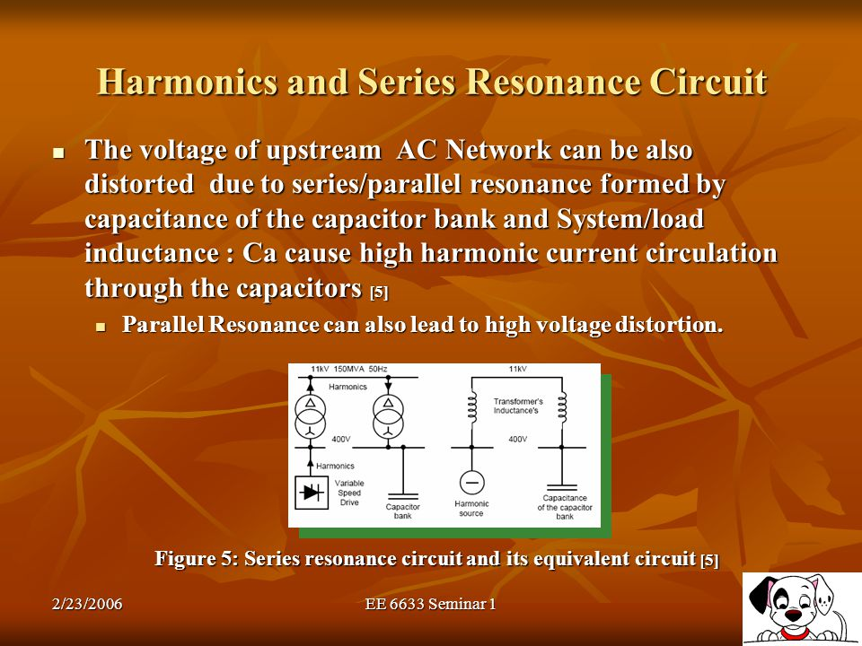 Harmonics and Series Resonance Circuit