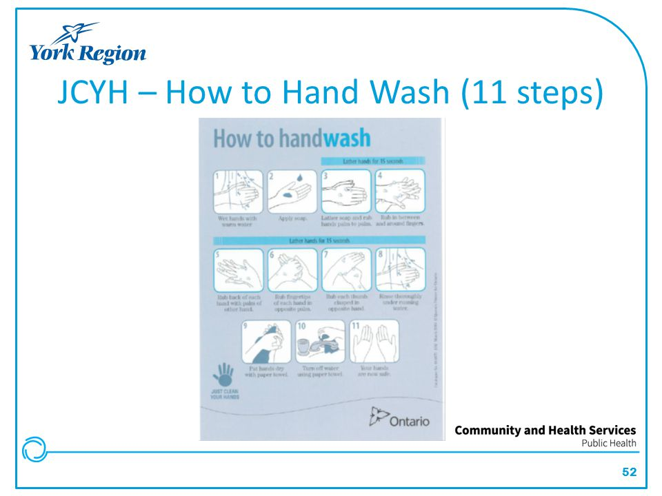 JCYH – How to Hand Wash (11 steps)