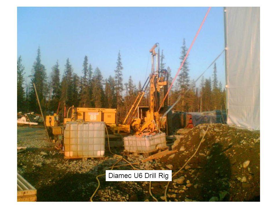 Diamec U6 Drill Rig