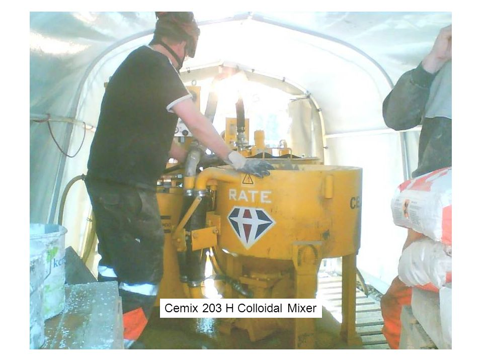 Cemix 203 H Colloidal Mixer