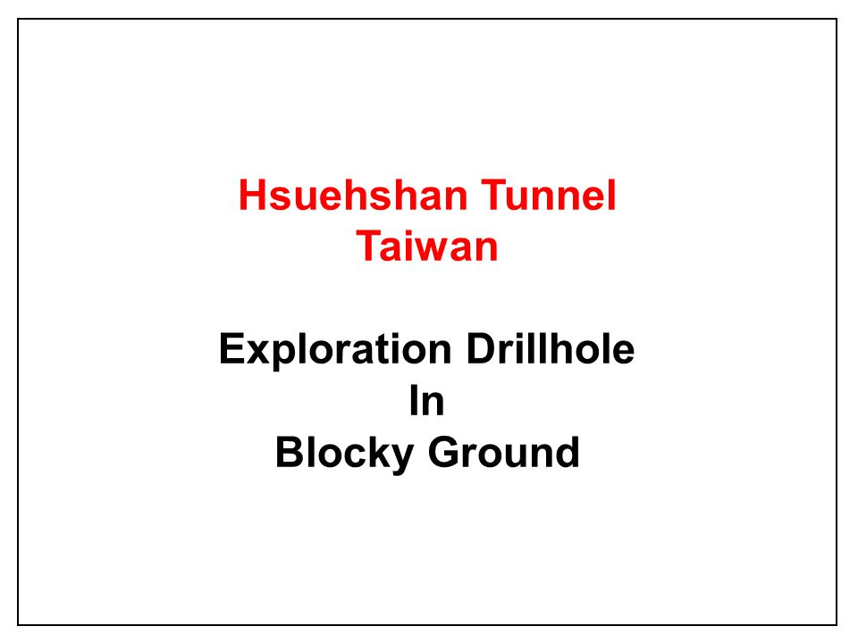 Exploration Drillhole