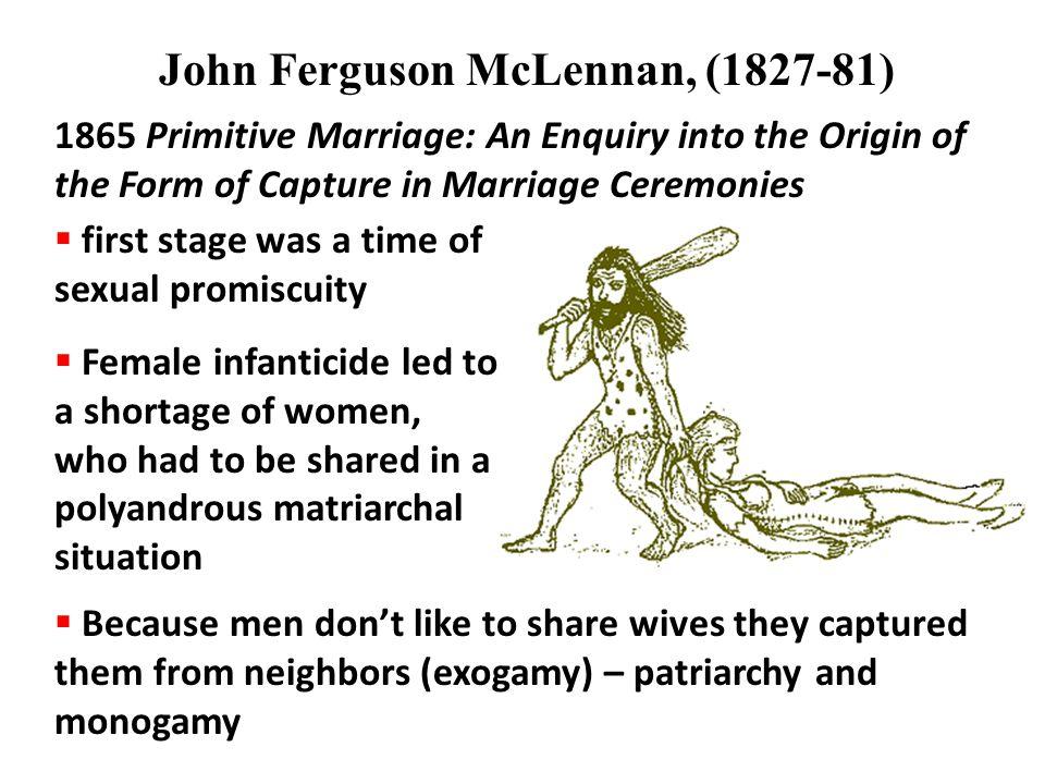 John Ferguson McLennan, (1827-81)