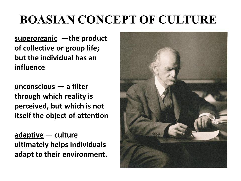 BOASIAN CONCEPT OF CULTURE