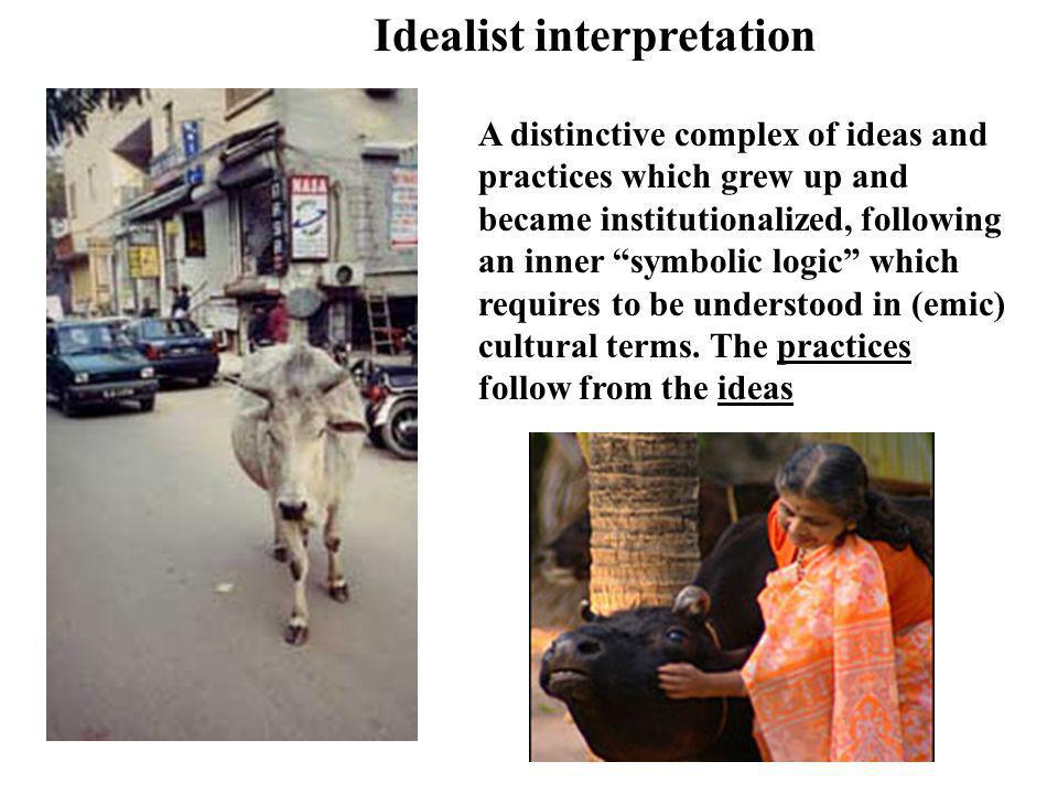 Idealist interpretation