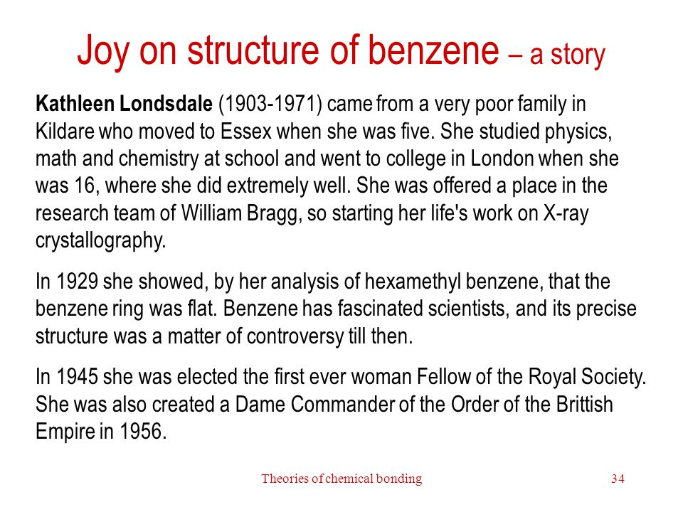 Joy on structure of benzene – a story