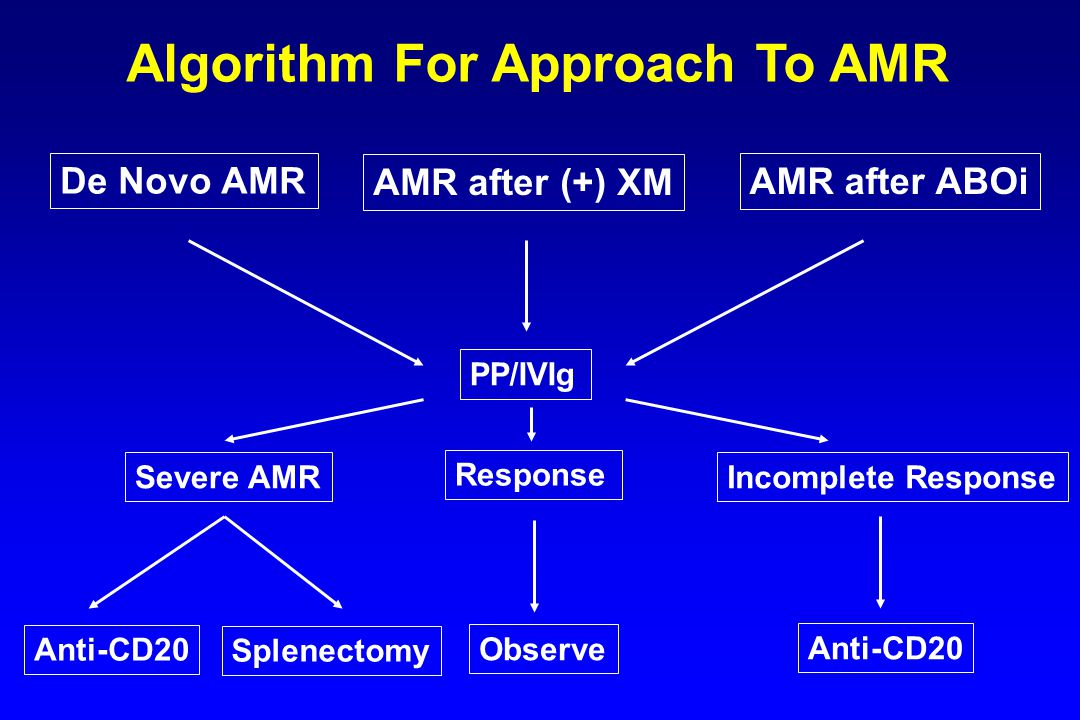 Algorithm For Approach To AMR