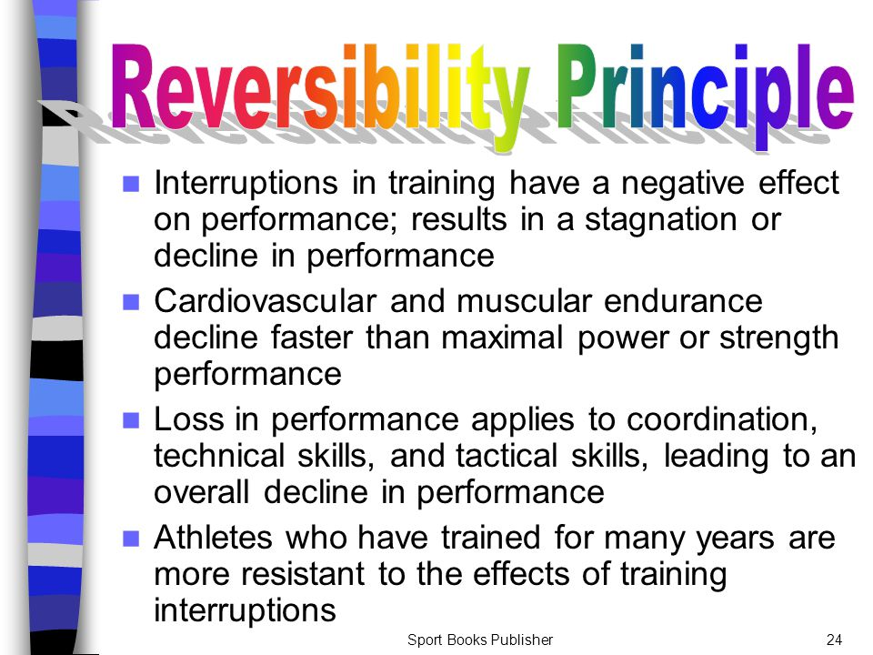 Reversibility Principle