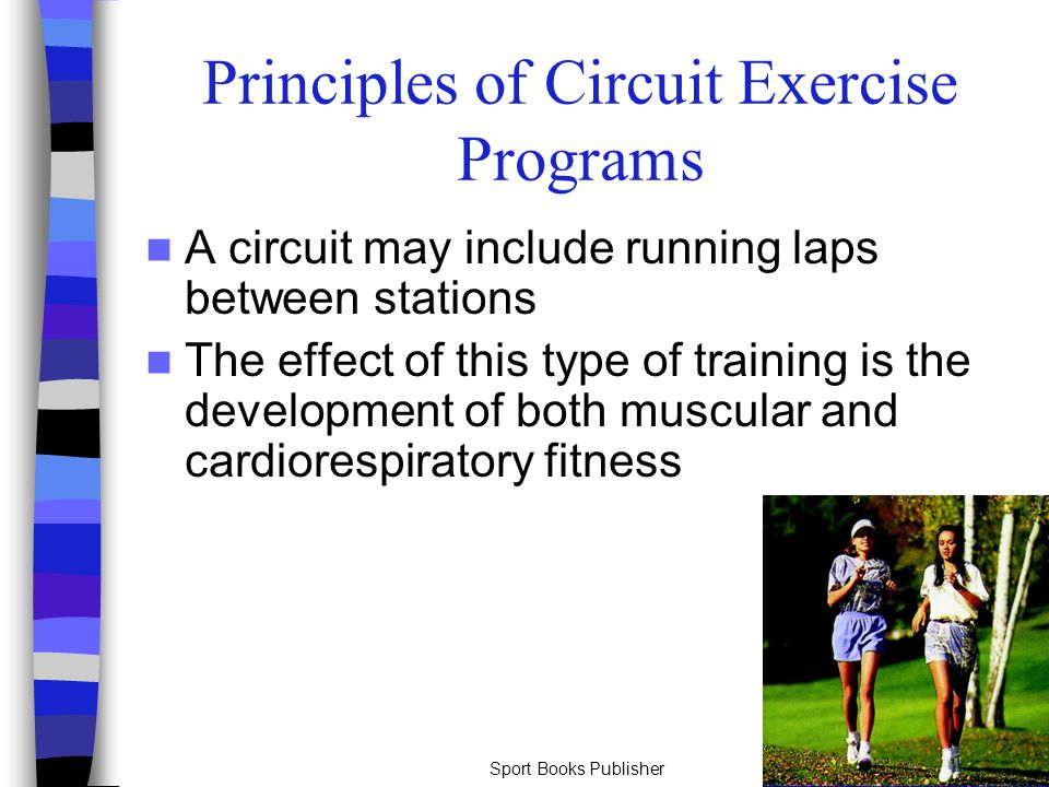 Principles of Circuit Exercise Programs