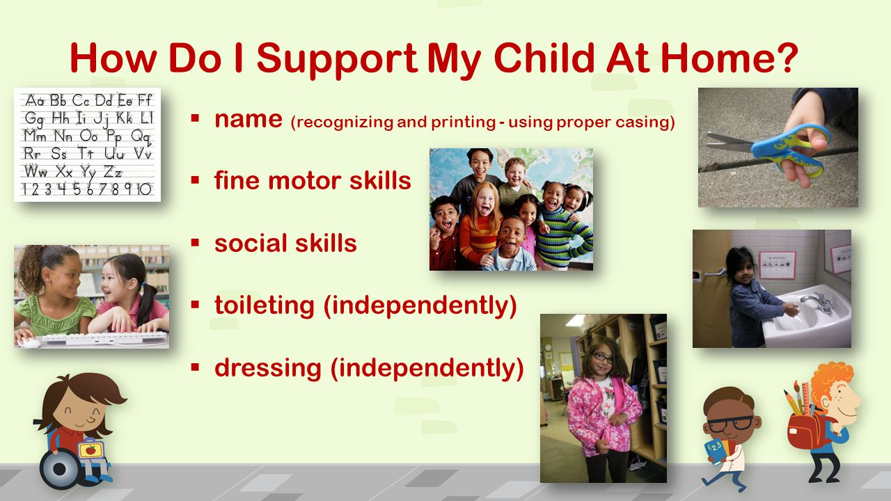 How Do I Support My Child At Home