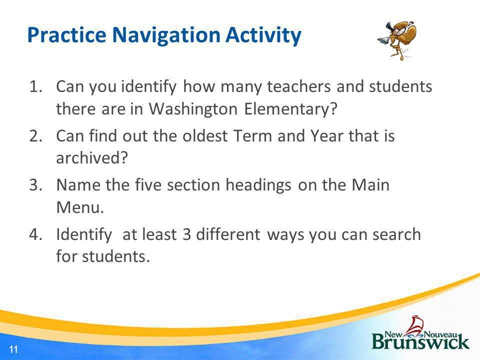 Practice Navigation Activity