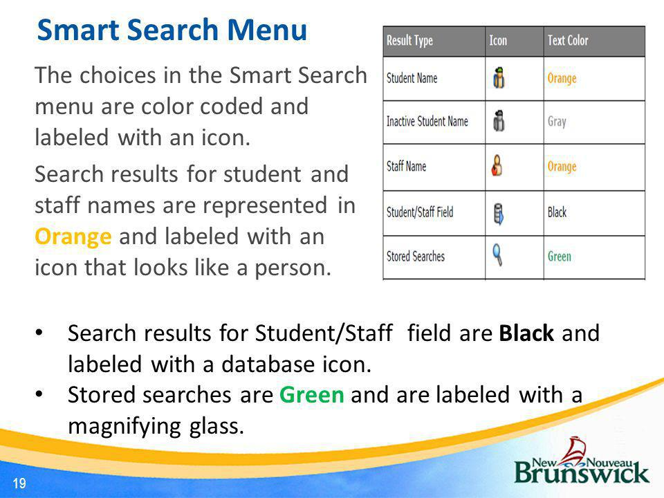 Smart Search Menu