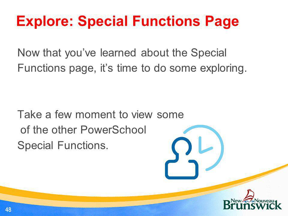 Explore: Special Functions Page