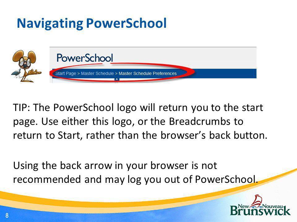 Navigating PowerSchool