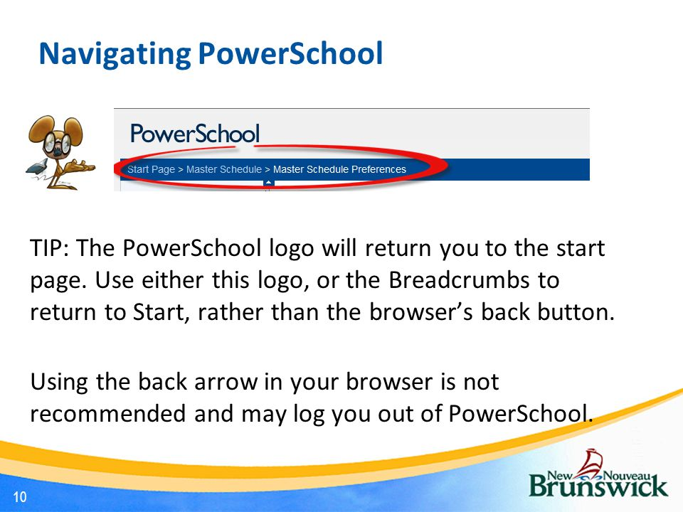 Navigating PowerSchool