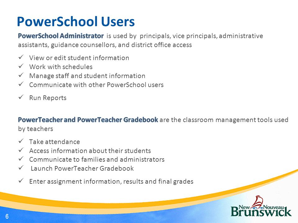 PowerSchool Users