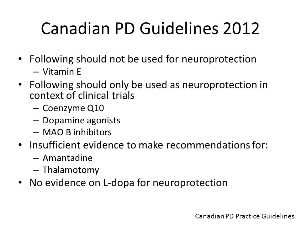 Canadian PD Guidelines 2012
