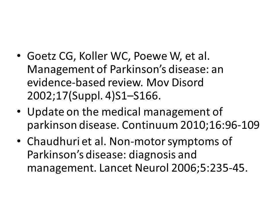 treatments in parkinson s disease ppt video online download