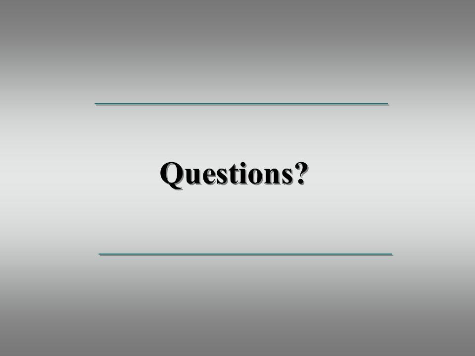 Questions _____________________________________