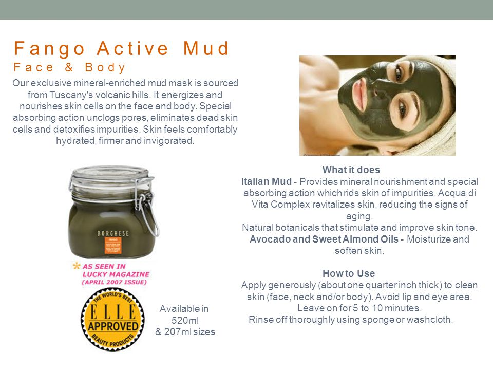 Fango Active Mud Face & Body