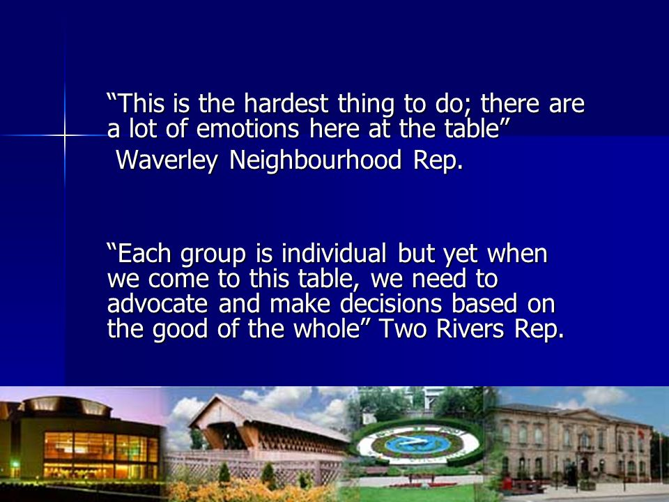 Waverley Neighbourhood Rep.