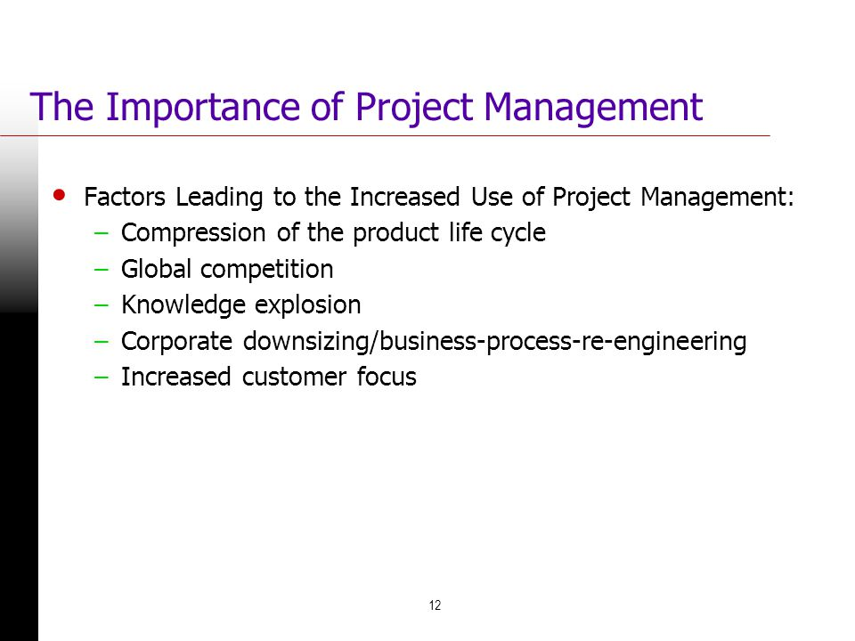 The Importance of Project Management