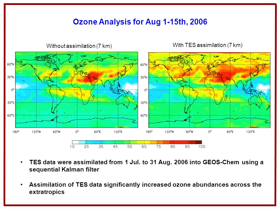 Ozone Analysis for Aug 1-15th, 2006