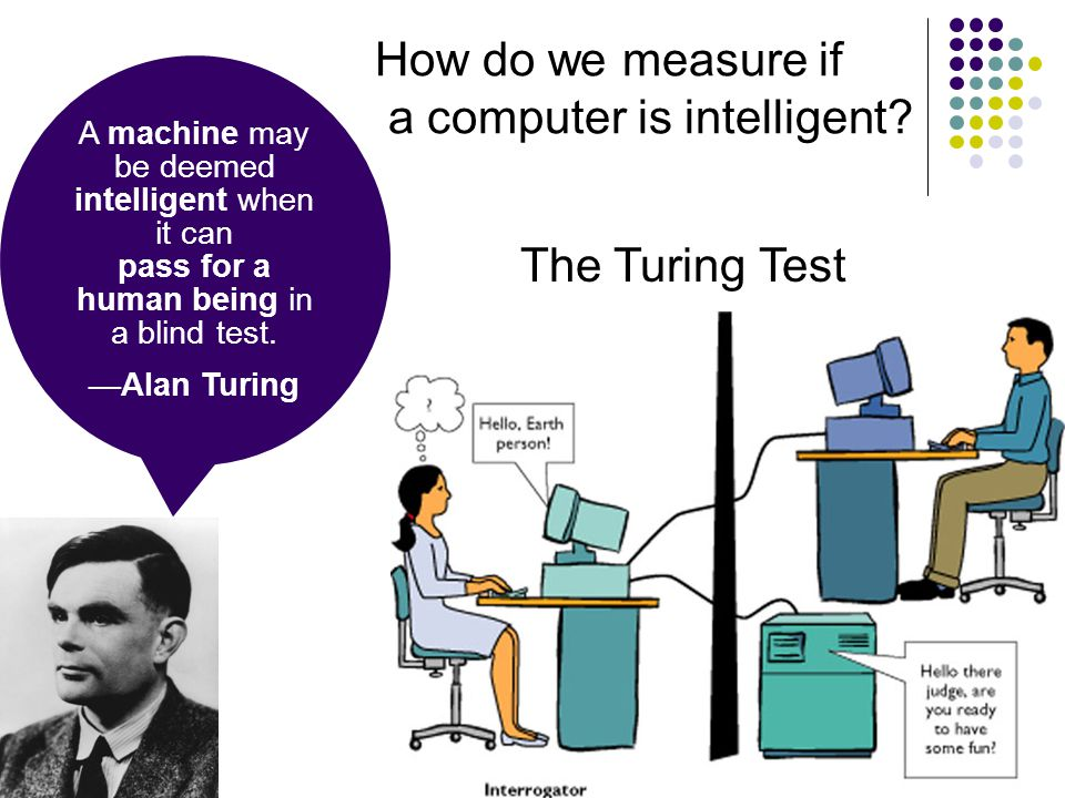 a computer is intelligent