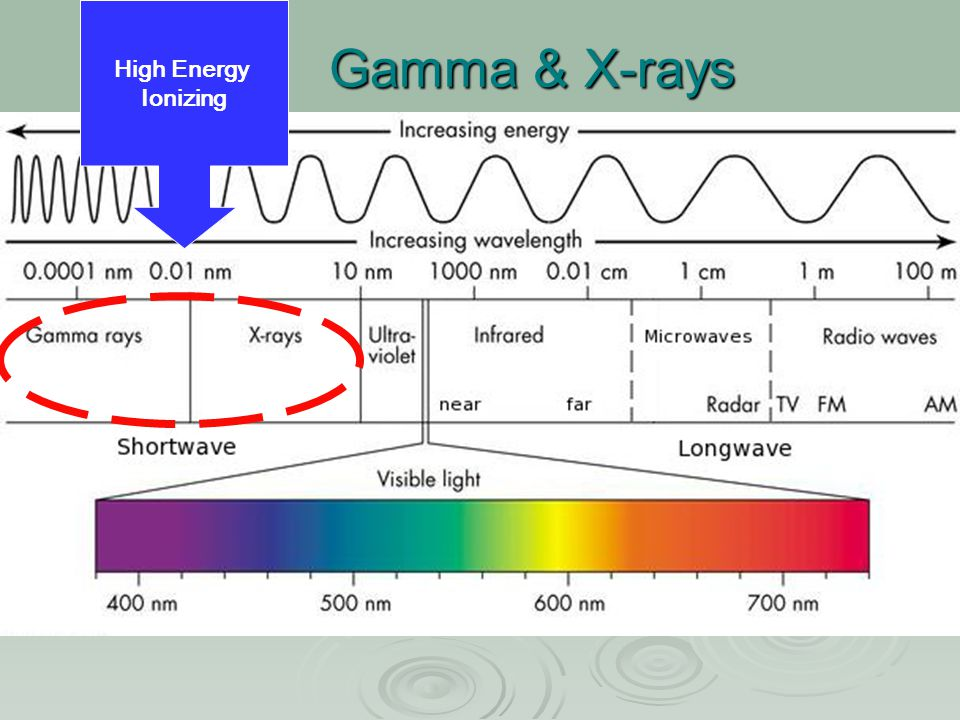 Gamma & X-rays High Energy Ionizing
