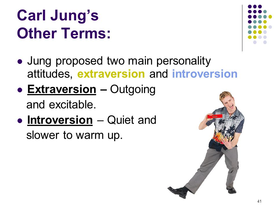 Carl Jung's Other Terms: