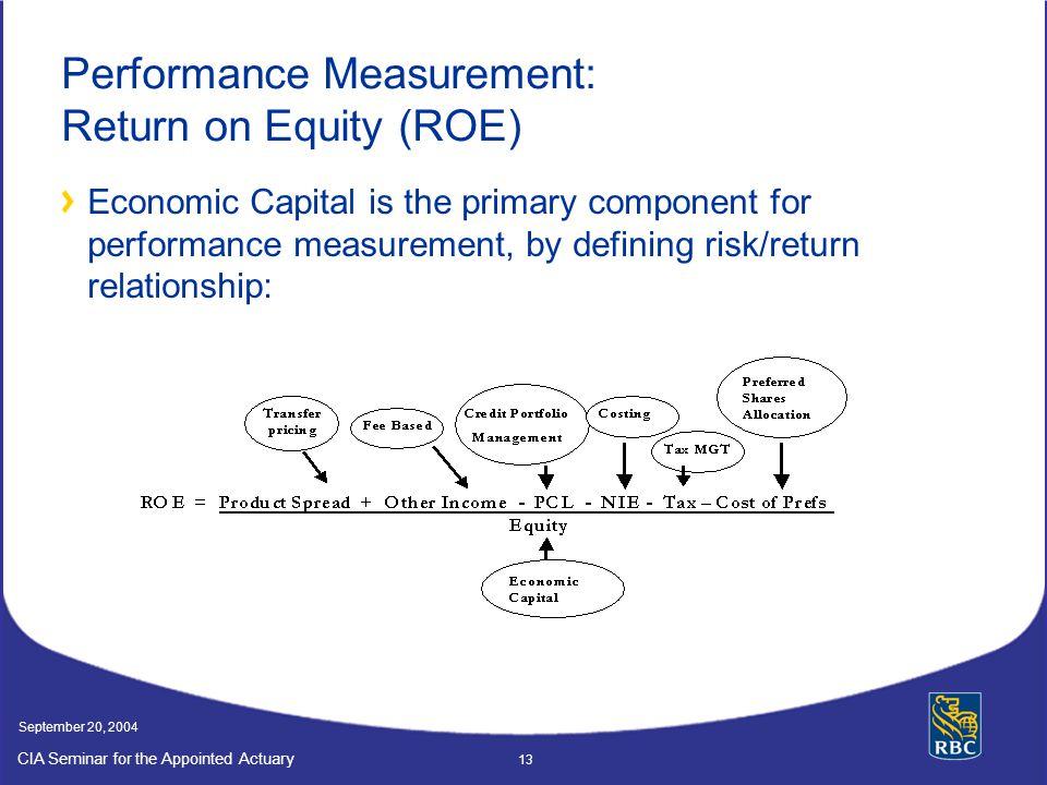 Performance Measurement: Return on Equity (ROE)