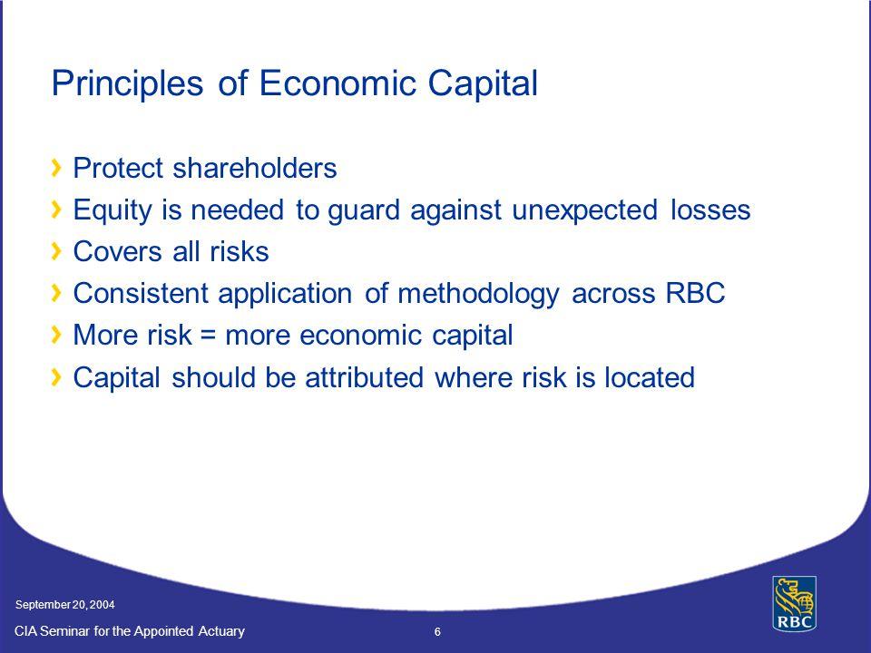Principles of Economic Capital