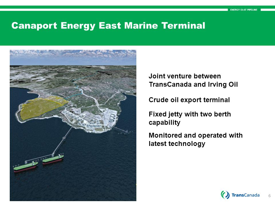 Canaport Energy East Marine Terminal