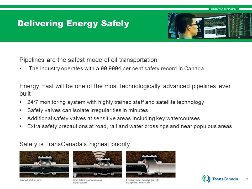 Delivering Energy Safely