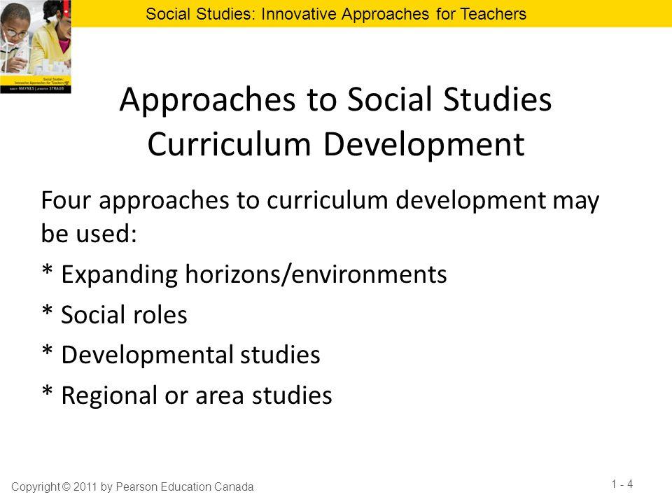 Approaches to Social Studies Curriculum Development