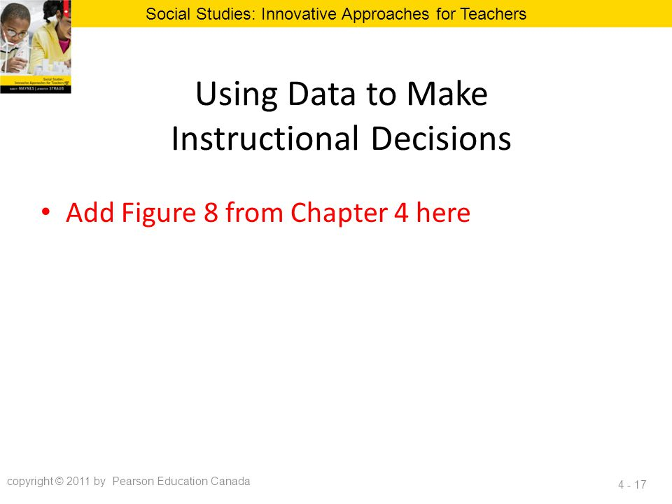 Using Data to Make Instructional Decisions