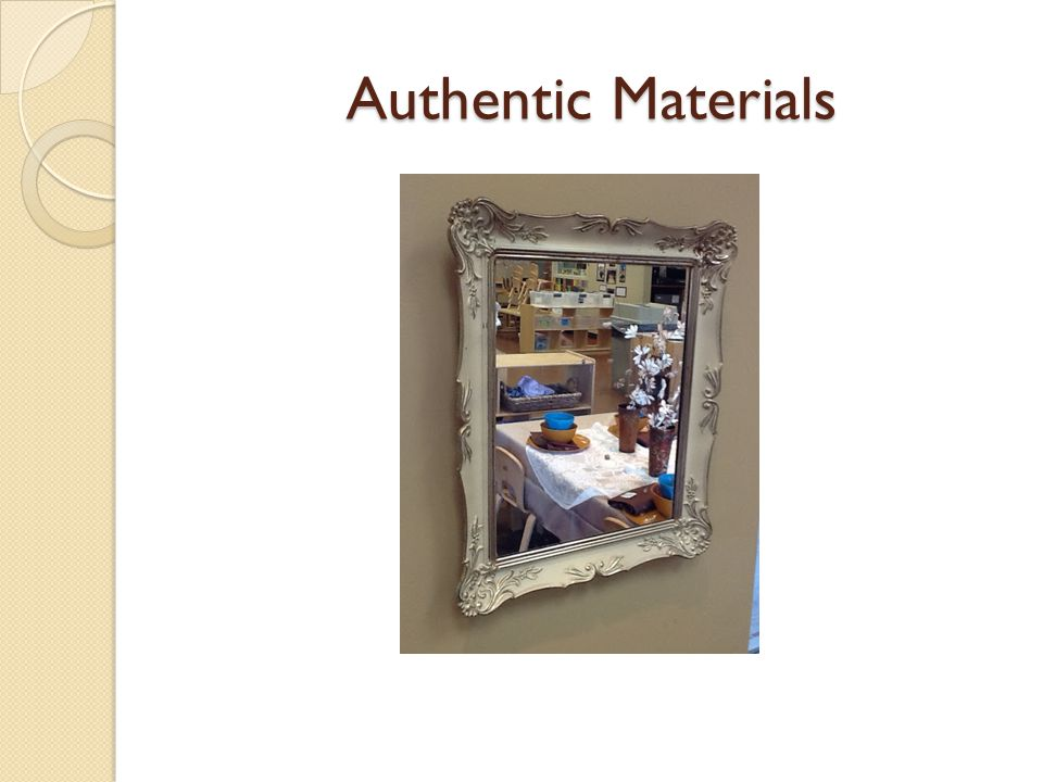 Authentic Materials