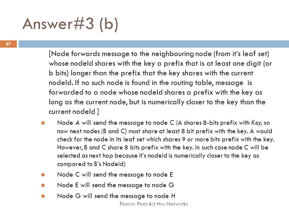 Answer#3 (b)
