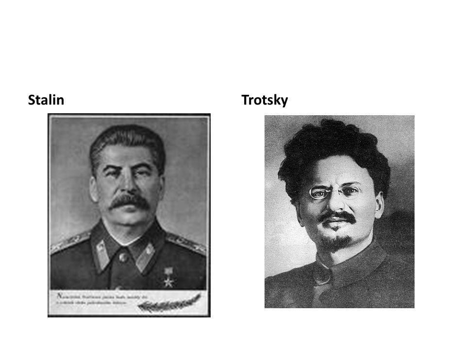 Stalin Trotsky