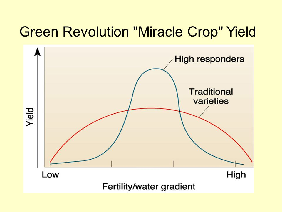 Green Revolution Miracle Crop Yield