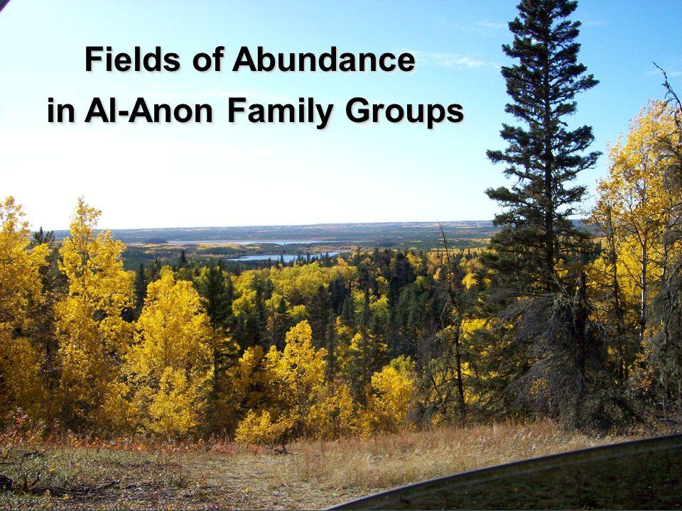 in Al-Anon Family Groups