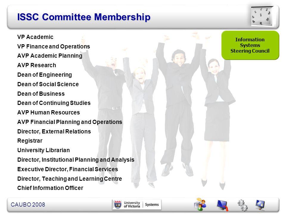ISSC Committee Membership