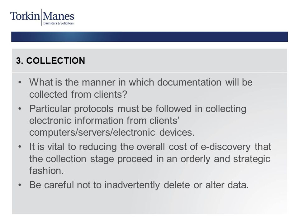 Be careful not to inadvertently delete or alter data.