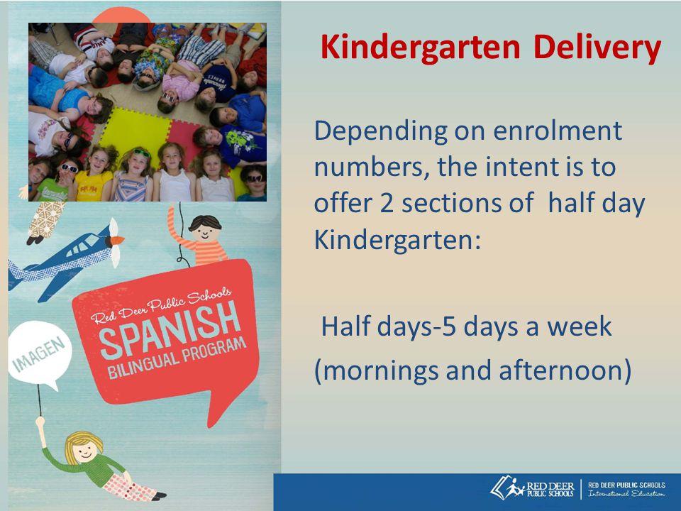 Kindergarten Delivery