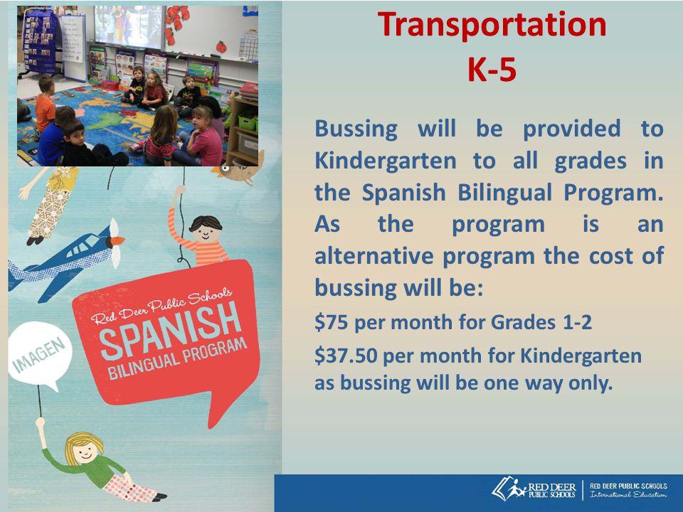 Transportation K-5