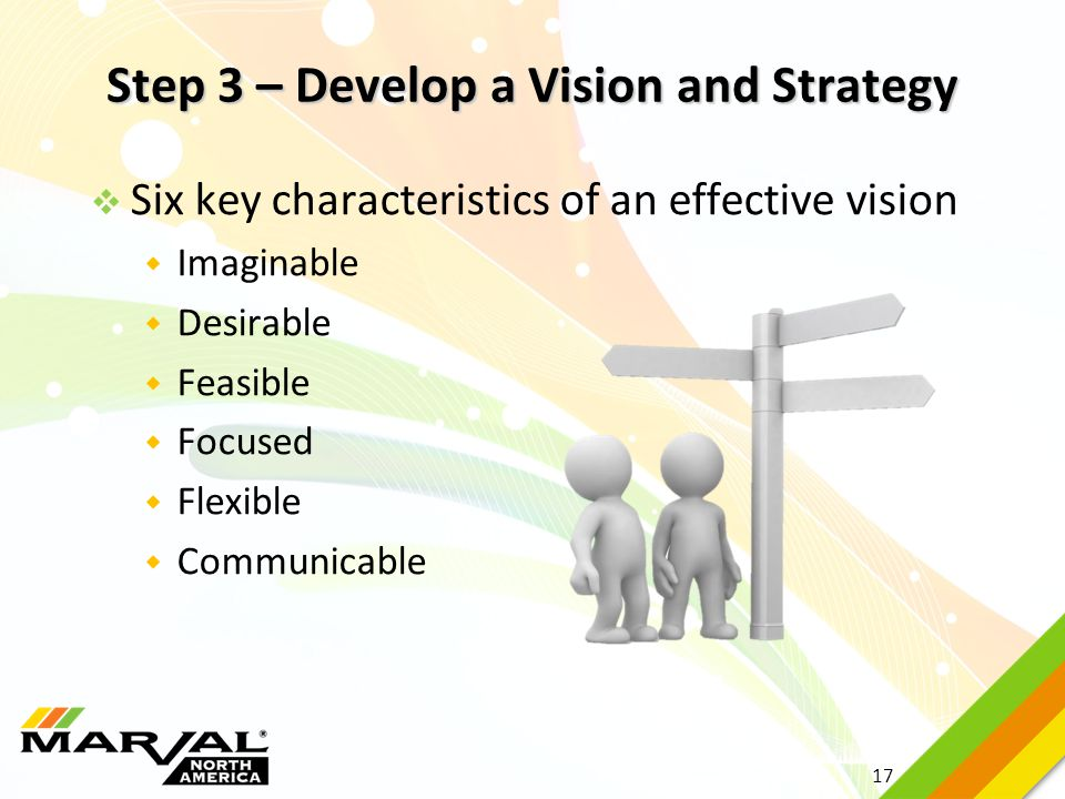Step 3 – Develop a Vision and Strategy