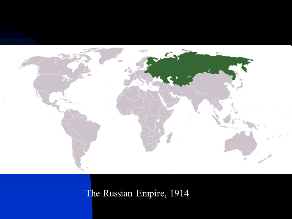 The Russian Empire, 1914