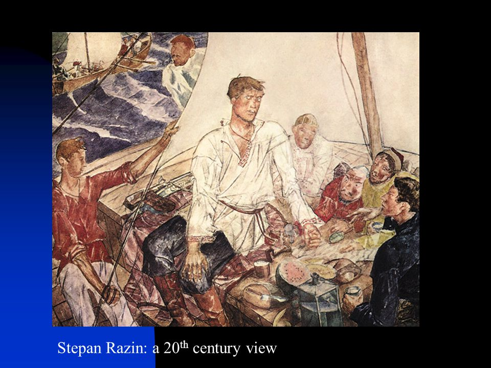 Stepan Razin: a 20th century view