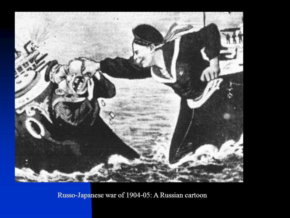 Russo-Japanese war of : A Russian cartoon