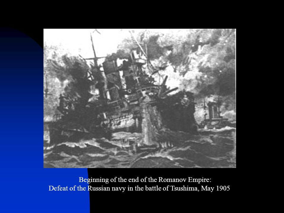 Beginning of the end of the Romanov Empire: Defeat of the Russian navy in the battle of Tsushima, May 1905